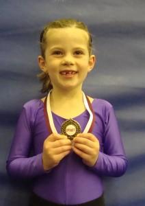 Naimh Graham, Monday 6pm gymnastics class, St Bede's
