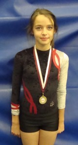 Erin Dunn, Monday 7pm gymnastics class, St Bede's