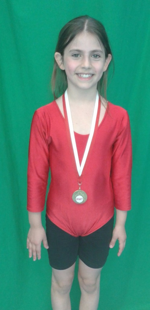 Amy Tarsitano (8), Oriel Saturday 12pm improvers gymnastics