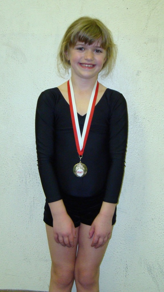 Isabelle Knowles (8), St Bede's Monday 7pm beginners