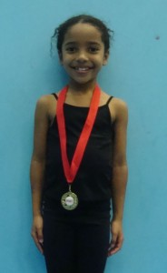 Oriel - Friday 5.30 pm Hannah Chizyuka (6 yrs)