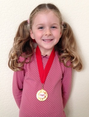 Oriel Saturday 11am - Rhia O'Connor (4 yrs)