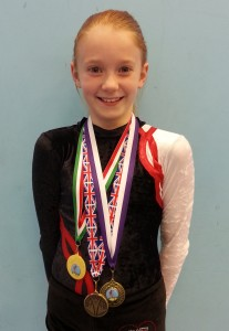 Scarlett Shepherd - Triple Gold Medalist