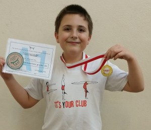 Lewis Thornhill (10 yrs) - St Bede's Weds 7pm