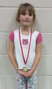 Jubilee - Tuesday 5pm - Holly Millns (6 yrs)