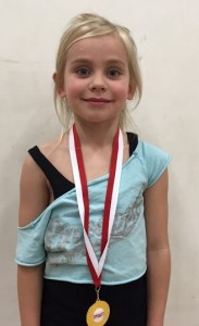 Oriel - Friday 6.30pm - Ellie Pattison (7 yrs)