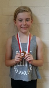 OAK Thu 6.45pm Lily Woolsey (6yrs)