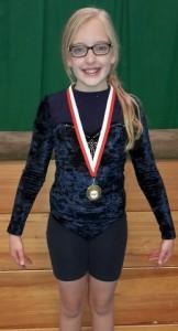 Nicole Bruce (10yrs) Oriel Sat 1200