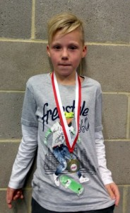 Kie Richens (9yrs) Freestyle Mon 8pm St.Bede's