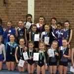 Medal Winning Tumbling Gymnasts