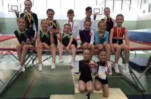 Trampoline Comp Medal Winners